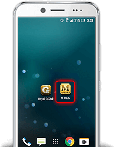 mclub android step 3